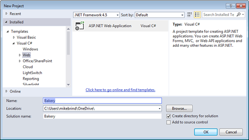 Migrate to MVC