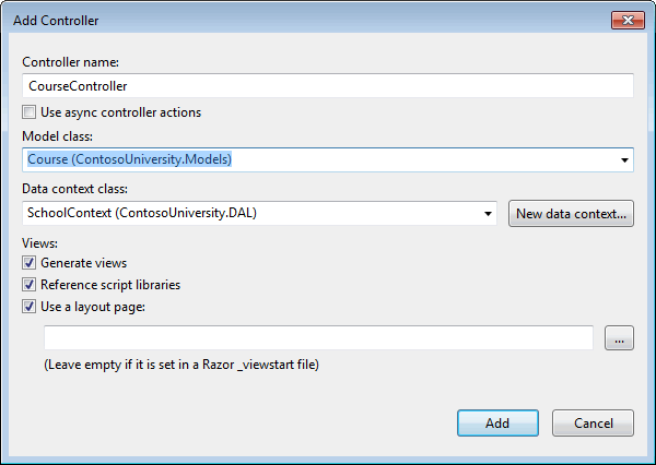 MVC 5 with EF 6 in Visual Basic - Reading Related Data