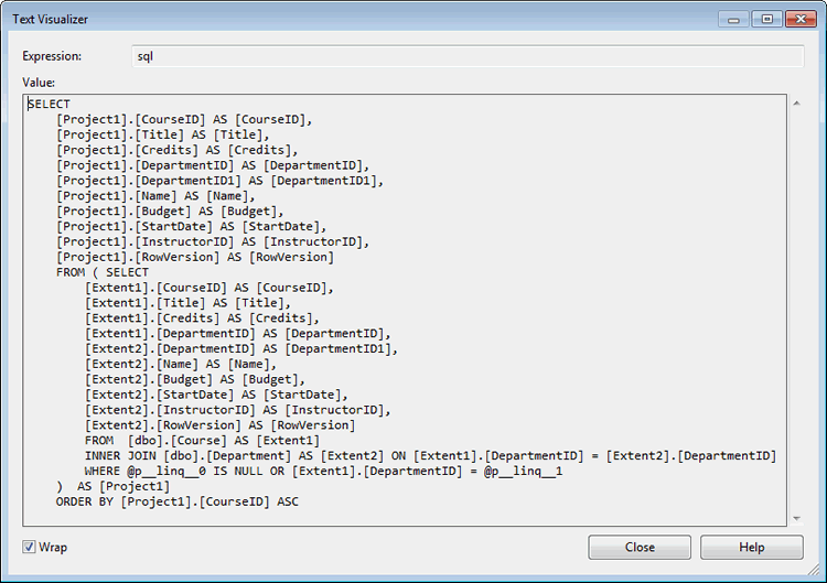 MVC 5 with EF 6 in Visual Basic - Advanced Entity Framework Scenarios