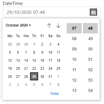 Dates and times in Razor Pages