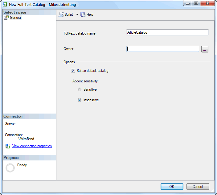 Implementing SQL Server Full-Text Search In An ASP NET MVC