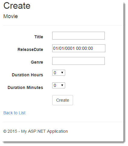 Entity Framework Recipe: Storing And Managing Time