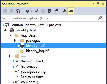 ASP.NET Identity