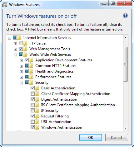 Windows Authentication With ASP NET Web Pages